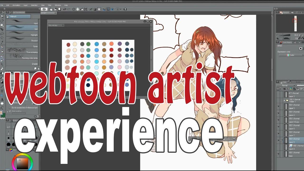 Making a Webtoon : Eggnoid 155