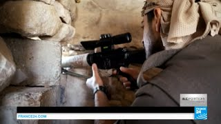 exclusive inside a trench alongside pkk fighters battling the is group in iraq