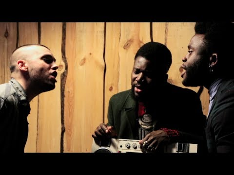 Rekorder: Young Fathers spielen