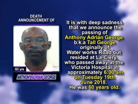 Anthony Adrian George short