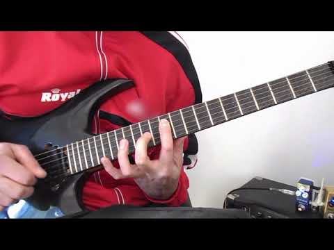 Joe Satriani - FOREVER AND EVER ( Full Guitar Cover By pedal 4 review )