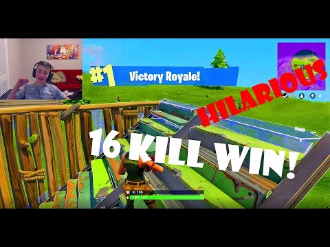 Playing With Random People In Fortnite Experiment (WE WIN) Funniest Footage Ever!
