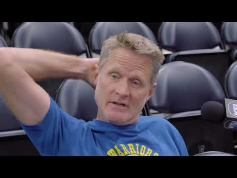 Steve Kerr talks playoff matchups, tonight's game against the Jazz
