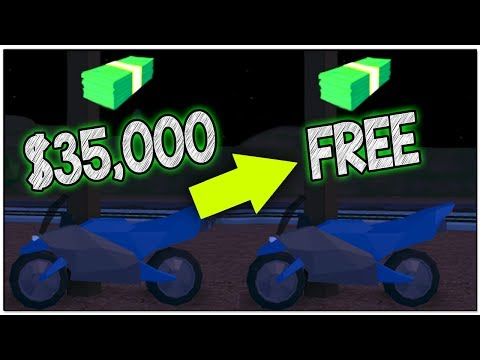 HOW TO GET THE NEW MOTORCYCLE FOR FREE IN ROBLOX JAILBREAK!!