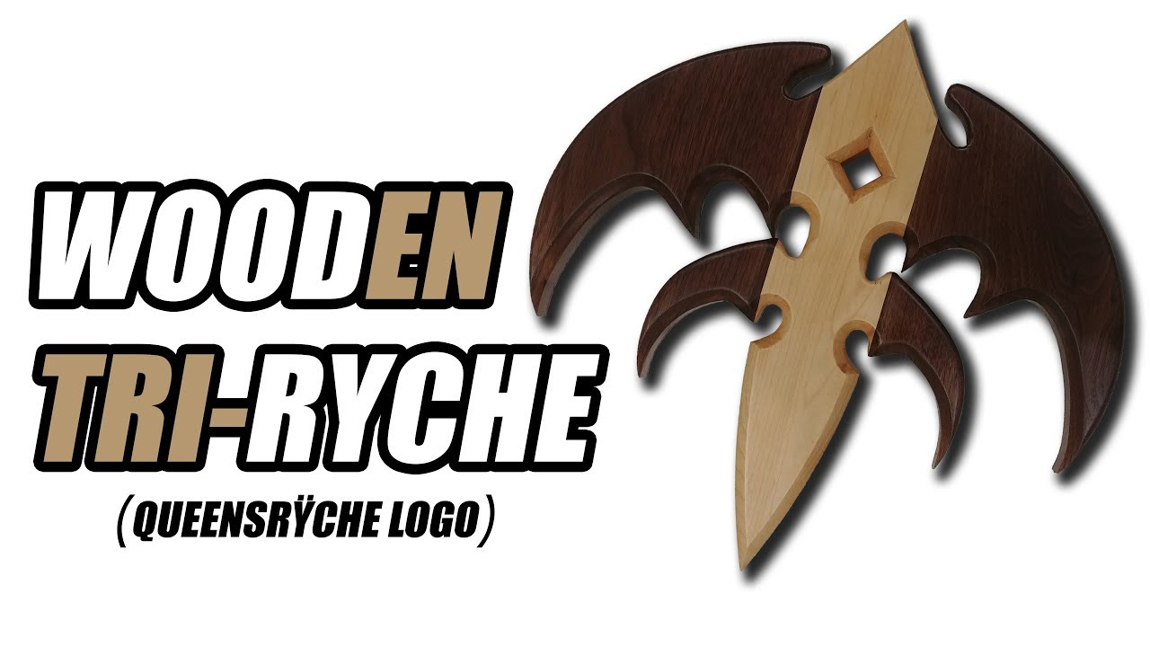 Making a Custom Maple and Walnut Tri-Ryche (Queensryche ... Queensryche Logo