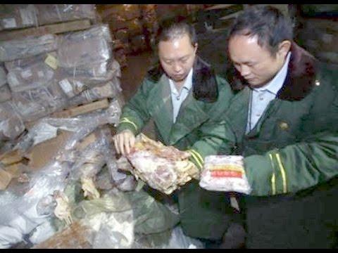 40 Jahre altes Gammelfleisch in China