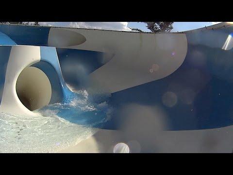 Speedriul Water Slide At Aquafan