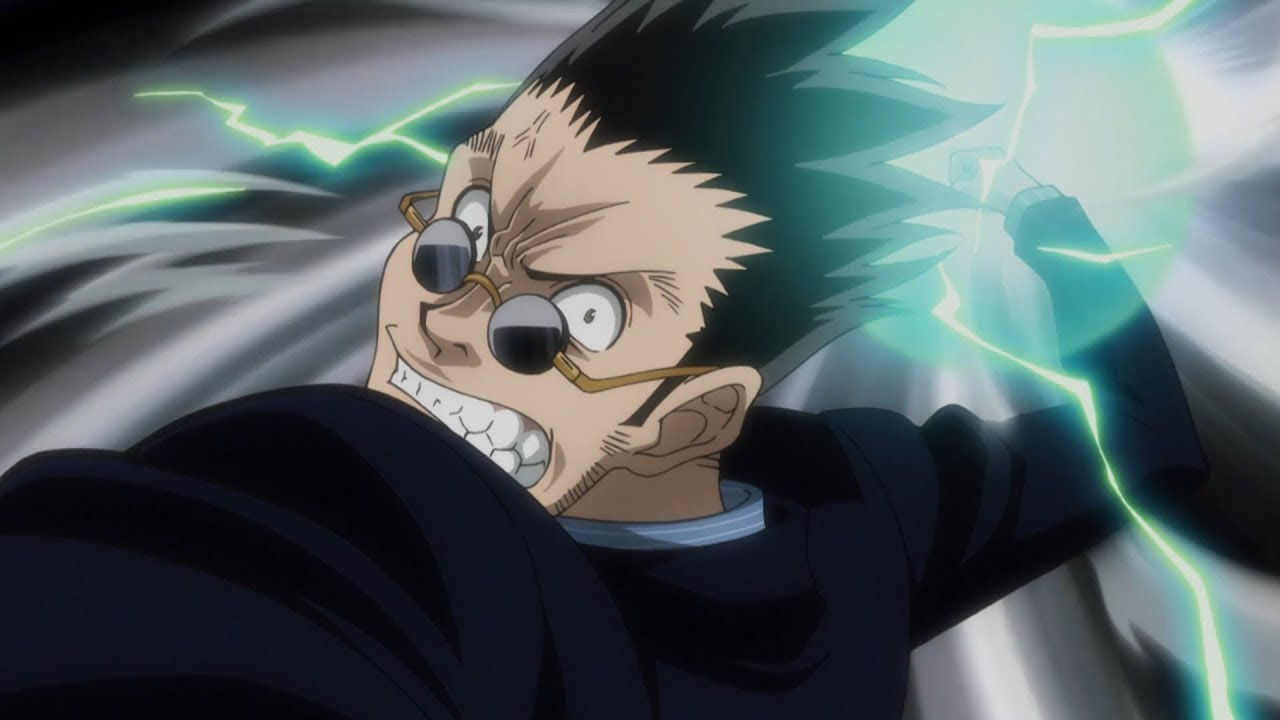 Leorio Punches Ging Hunter X Hunter 2011 Youtube