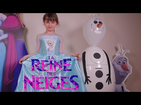 [OEUF & JOUET] Oeuf géant Reine des Neiges Olaf maxi plein - Unboxing giant full Frozen Egg