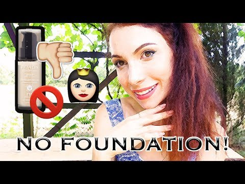 How To Look FLAWLESS with NO FOUNDATION Makeup Tutorial