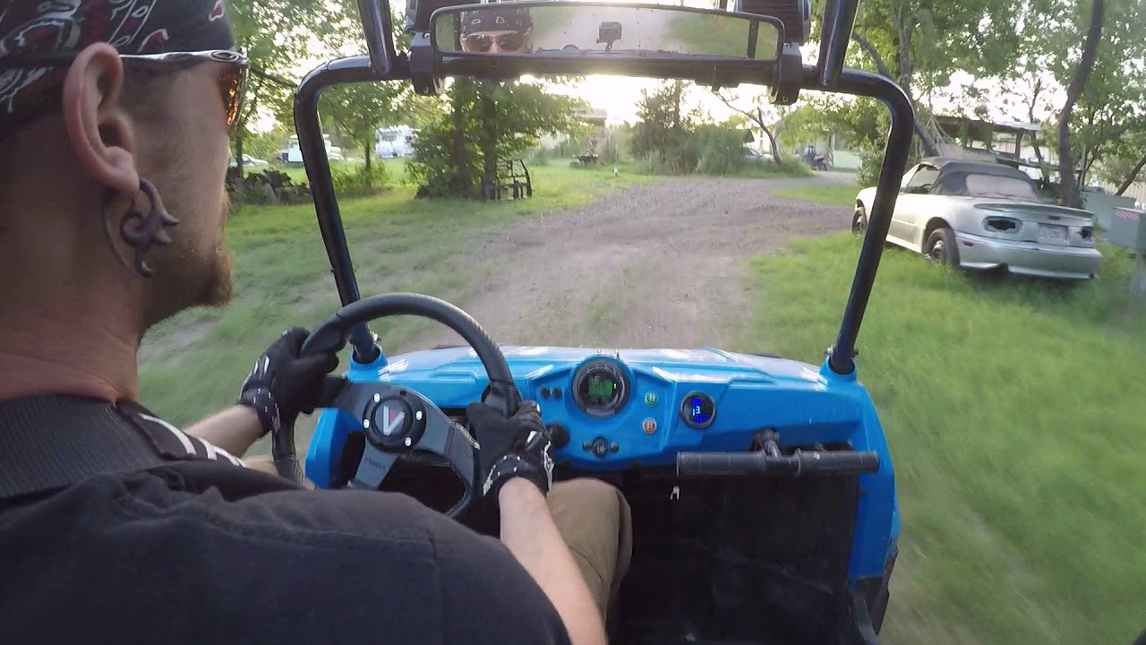 Heavily Modified RZR 170 Trail Run