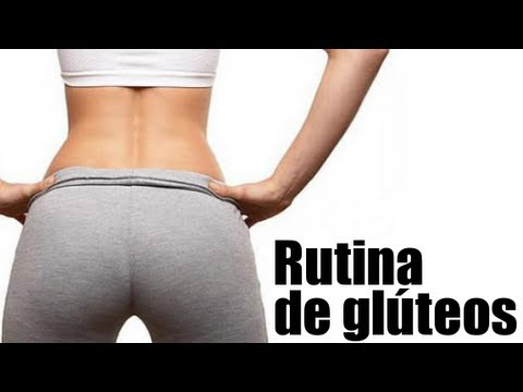 Rutina de ejercicios de glúteos