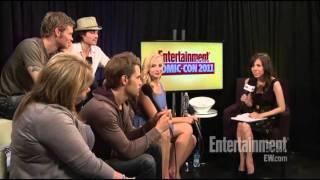[Comic-Con 2011] The Vampire Diaries interview EW.com