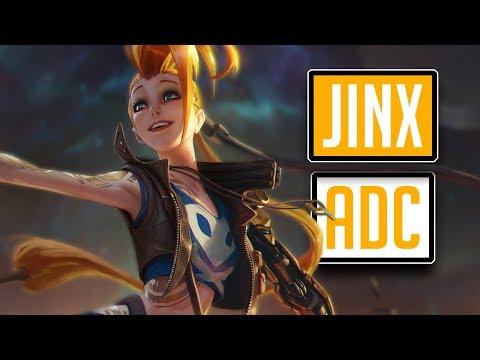 League of Legends #576: Jinx ADC (CZ/Full HD/60FPS) thumbnail