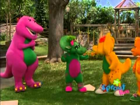 Barney & Friends Playing Games