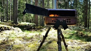 IKEA DIY Tent Stove for Backpacking