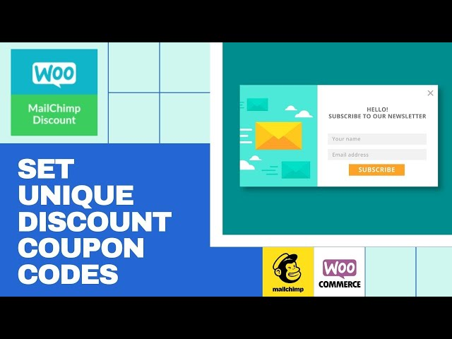 How to Set Unique Discount Coupons in WooCommerce MailChimp Newsletter Discount Plugin