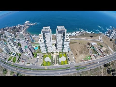 Sebastian Alvarez wingsuit through BUILDINGS. Hometown. Reñaca, Chile.