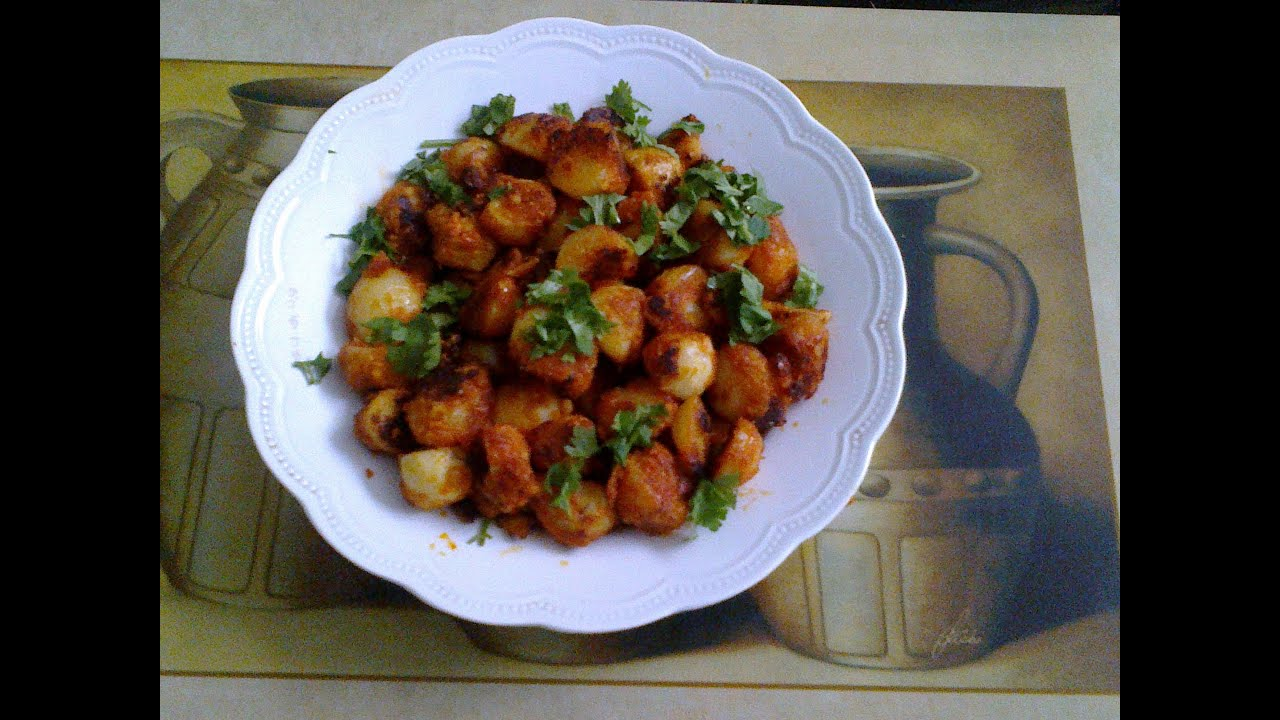 Chicken 65 healthy food kitchen - Small Potato Masala Roast Urulai Kizhangu Varuval Potato Recipe By Healthy Food Kitchen