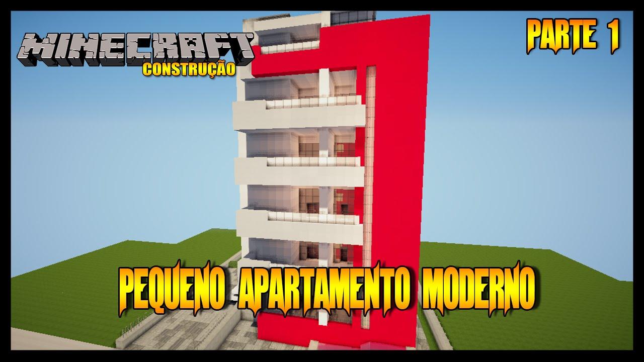 Minecraft construindo um apartamento moderno parte 1 for Minecraft moderno