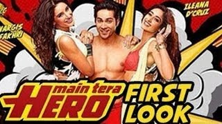 Varun Dhawan, Ileana D'Cruz And Nargis Fakhri At 'Main Tera Hero' Trailer Launch