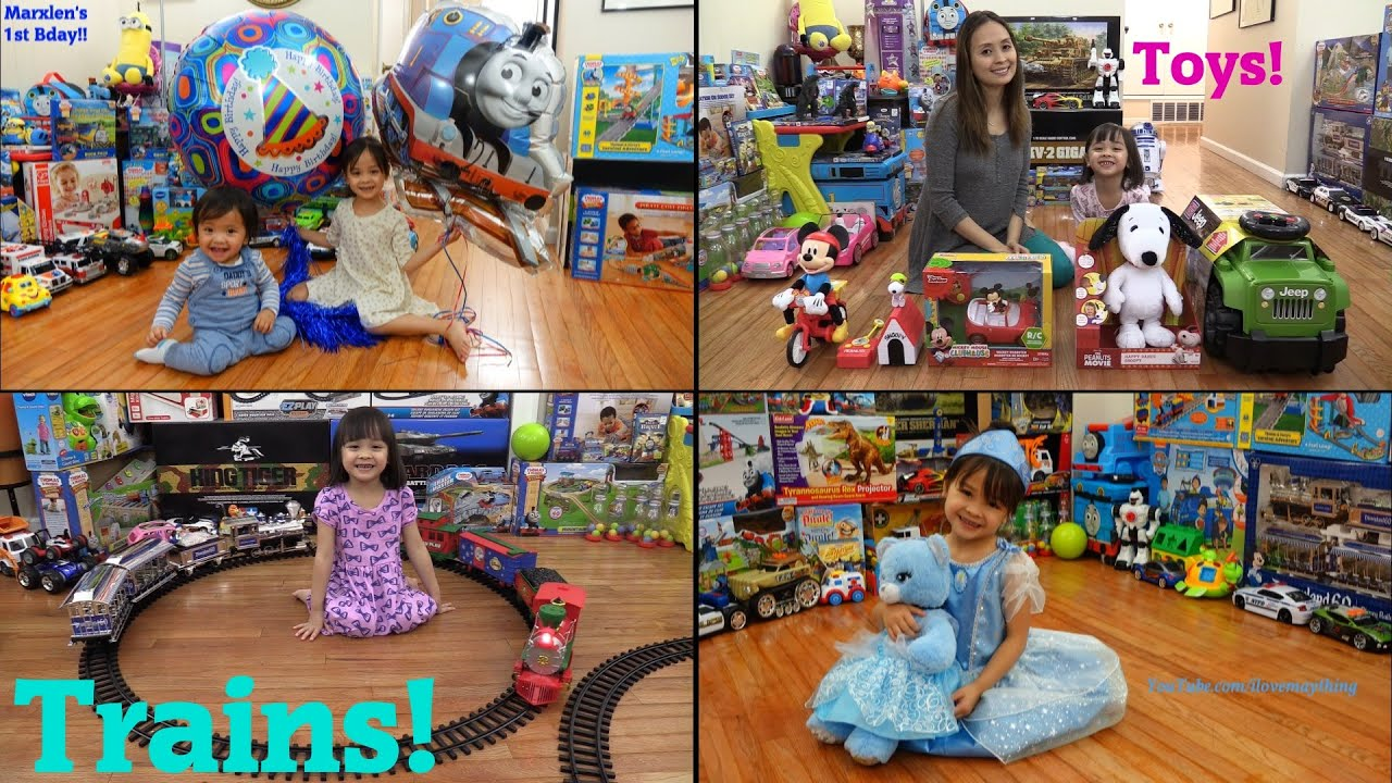 Toy Train Play Sets, Disney Mickey Mouse Clubhouse Toys, Mega Bloks, Snoopy, Etc...