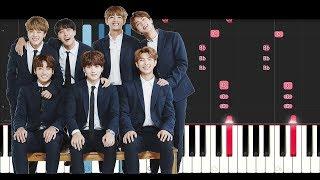 BTS - BEST OF ME (Piano Tutorial)