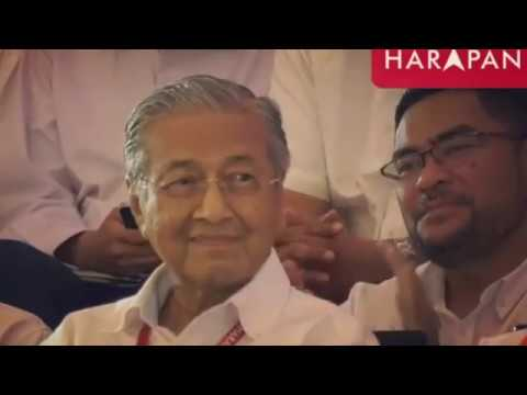 TUN DR MAHATHIR 7th Prime Minister MALAYSIA 10th May 2018