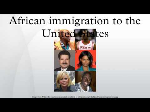 African immigration to the United States