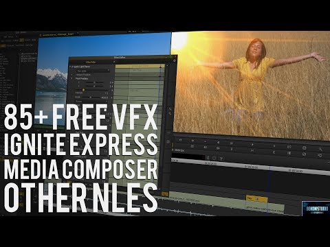 MEDIA COMPOSER | 85+ FREE VFX PLUGINS AND DEMO [WORKS IN OTHER NLEs TOO]