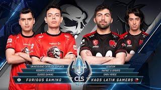 CLS -  Furious vs KLG   - Apertura S3D1
