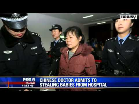 Chinese doctor admits to stealing and selling babies