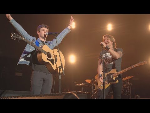 "Keith Urban and Sam Clifford  - ""Shotgun"" - George Ezra Cover - Live from Dublin, Ireland"