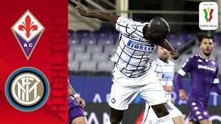 Fiorentina 1-2 Inter | Lukaku's header seals last 16th berth | Coppa Italia 2020/21