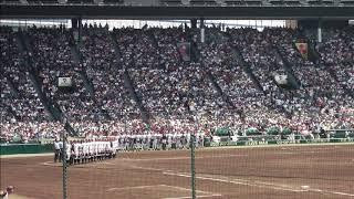 第99回全国高等学校野球選手権三回戦 聖光学院-広陵(一回表)より 0:00...