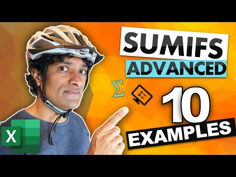 10 advanced uses of SUMIFS that are mind-blowingly awesome (bring your helmet)
