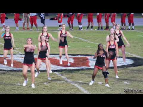Waccamaw High School Dance Crew Team At Football Game