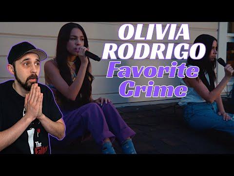 Download Olivia Rodrigo REACTION! Favorite Crime (Live Performance) | Vevo LIFT