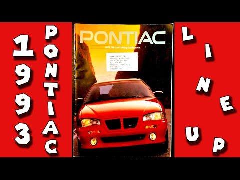 Retro Road   1993 Pontiac (Full Line-Up) Brochure