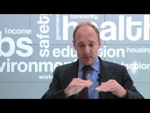 Tim Berners-Lee talks about how an open Internet is key to driving innovation