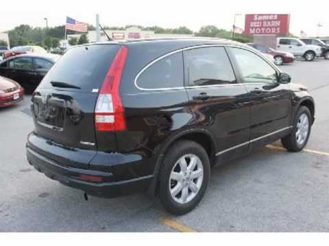 2011 Black Honda CRV  YouTube