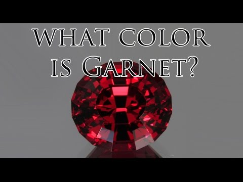 What Color Is Garnet