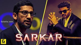 Sarkar: Vijay As Sundar Pichai? Thalapathy   Google   A R Murugadoss   Rahman   Keerthy   Varalaxmi