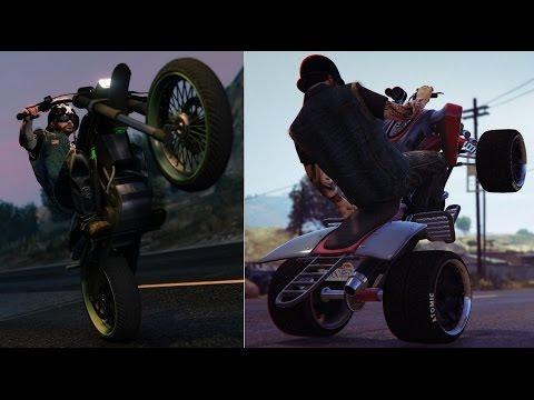Gta 5 Online Manchez Bike And Street Blazer Atv Infinite Wheelie
