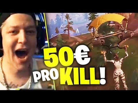 50 Euro Pro Kill | Monte Fortnite Turnier | SpontanaBlack