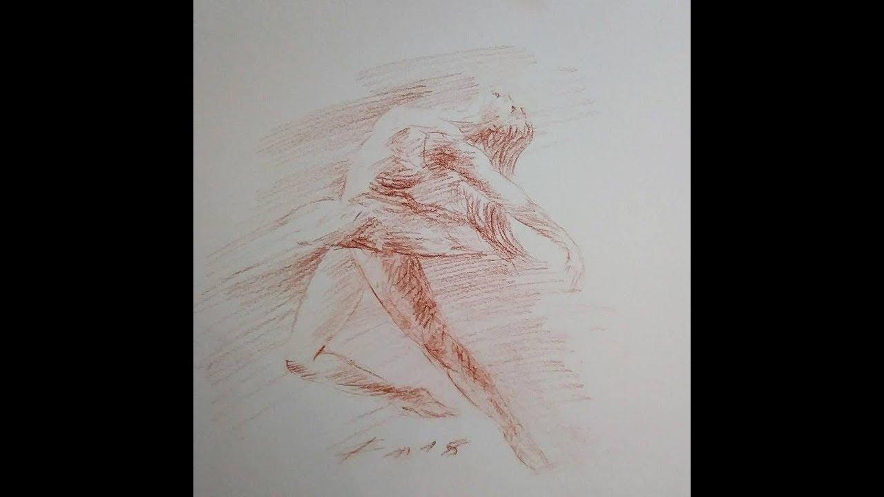 Comment dessiner une danseuse dessin la sanguine d - Dessiner une danseuse ...