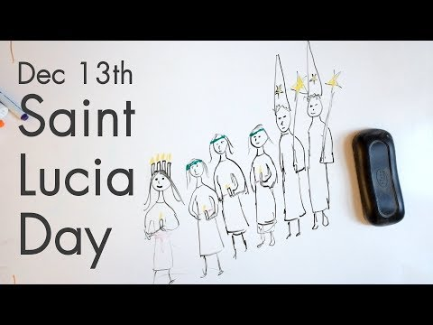 Sweden's Weird Catholic Relationship w/ Santa Lucia