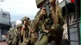 Maniobras de Fuerzas armadas de Federacion Rusa Caucaso 2012