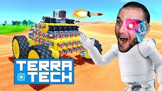 HEAT SEEKING ROCKET LAUNCHER IS OP! - TerraTech #13