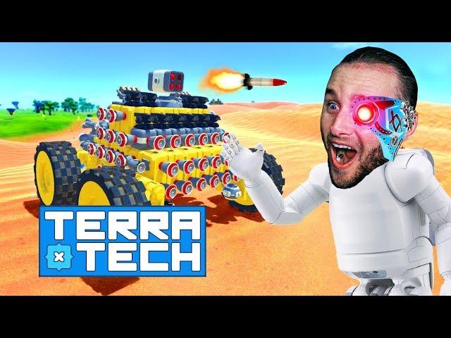 HEAT SEEKING ROCKET LAUNCHER IS OP! - TerraTech #13